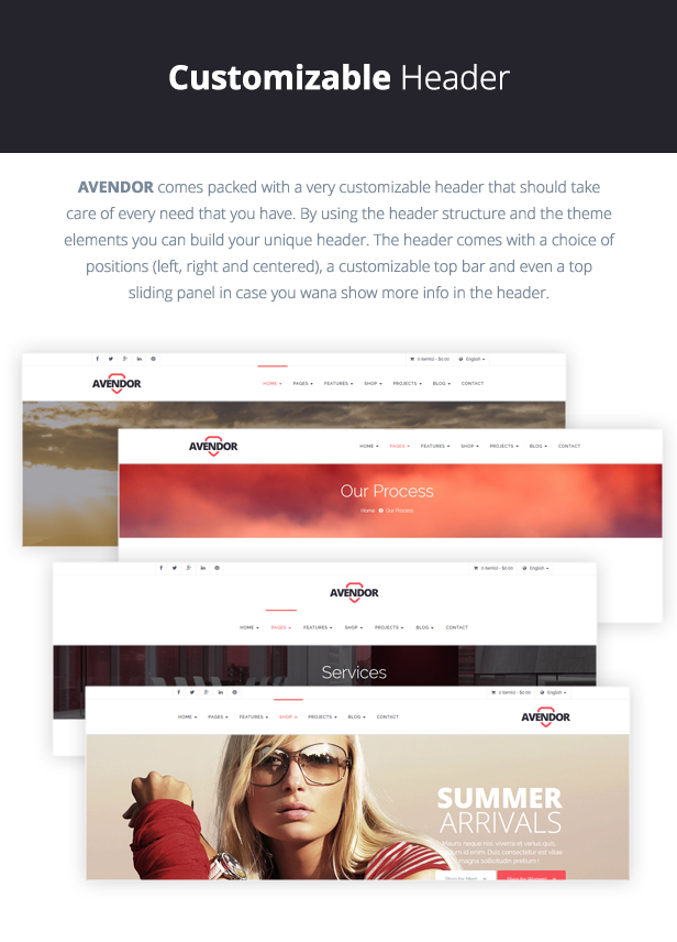 AVENDOR - WordPress Responsive Multi-purpose Theme