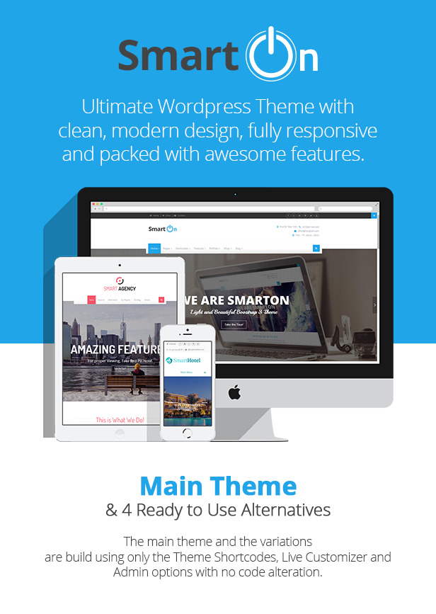 SmartOn - Multi-Purpose Ultimate WordPress Theme